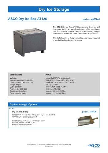 Dry Ice Box AT126
