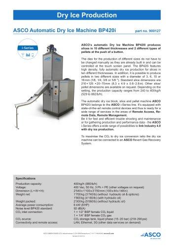 Dry Ice Machine BP420i