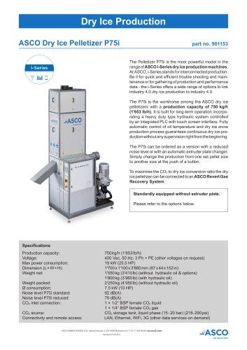 Dry Ice Pelletizer P75i