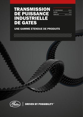 Catalogue de transmission de puissance industrielle