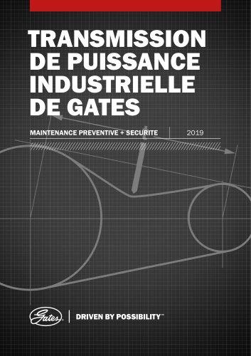Entretien Preventif des Transmissions par Courroies Industrielles