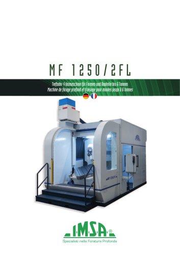 IMSA MF1250/2FL | Foreuse-fraiseuse pour moules jusqu'à 6 tonnes