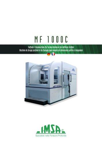 MF1000C Machine de forage profond et de fraisage pour moules de dimensions petites à moyennes