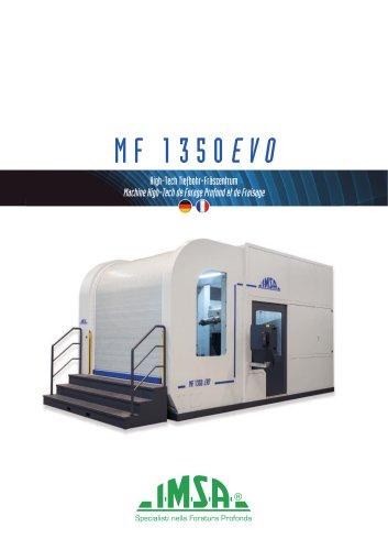 MF1350EVO | Machine High-Tech de Forage Profond et Fraisage