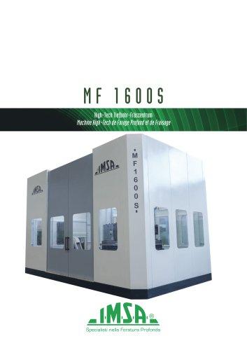 MF1600S Foreuse/fraiseuse pour moules jusqu'à 20 tonnes