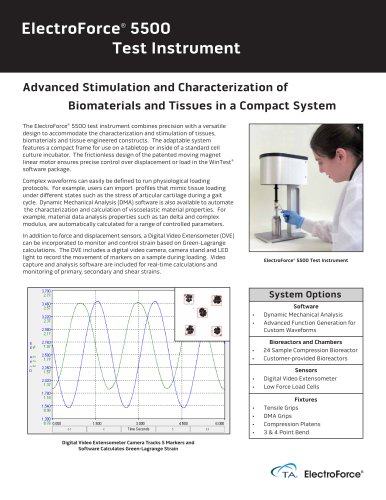 ElectroForce® 5500 Test Instrument