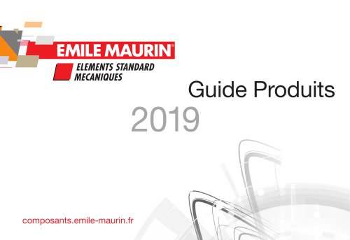 Guide Produits 2019