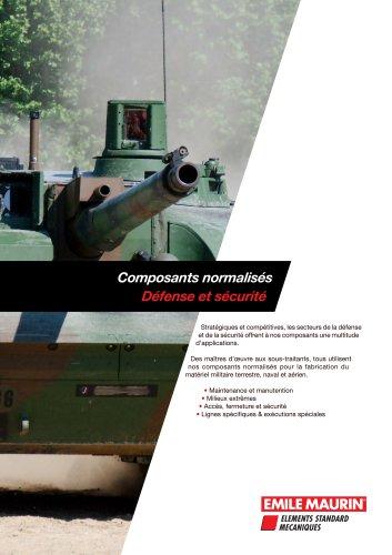 Plaquette Défense - Emile Maurin