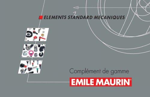 Suppléments Nouveau Produits Emile Maurin