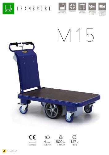M15 chariot transporteur électrique