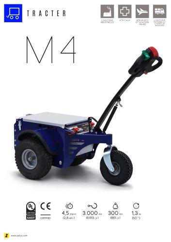M4 Tracteur électrique accompagnant