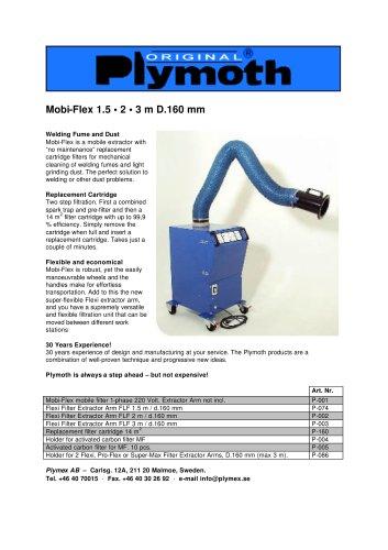 Mobi-Flex 1.5 • 2 • 3 m D.160 mm