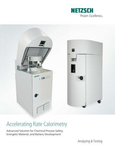 Accelerating Rate Calorimetry