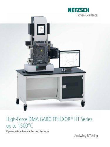 DMA GABO EPLEXOR up to 1500°C