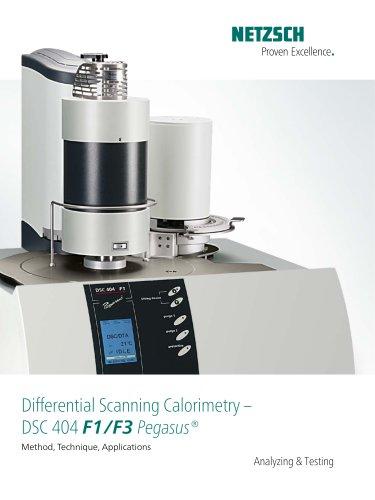 DSC 404 F1/F3 Pegasus® - product  brochure