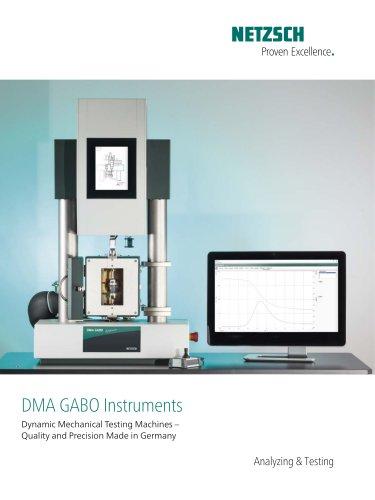 NETZSCH GABO Instruments image brochure