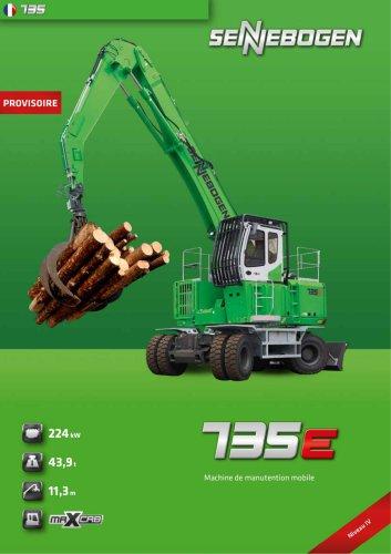 Pelle de manutention industrielle 735 Mobil E-Serie