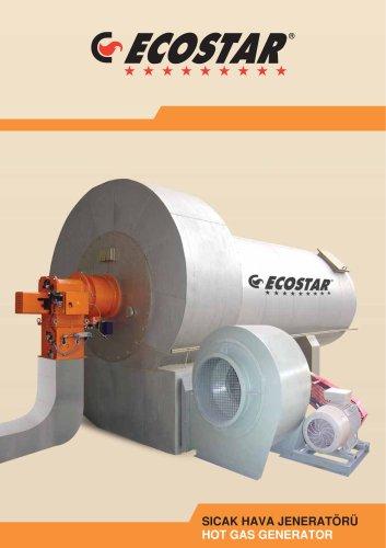 ECOSTAR Industrial Hot Air Generators