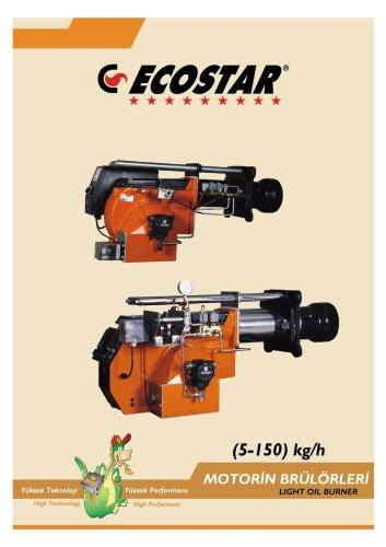 ECOSTAR Oil Burner 5-150 Kg/h