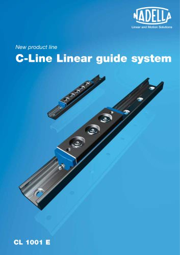 C-Line Linear guide system Catalogue