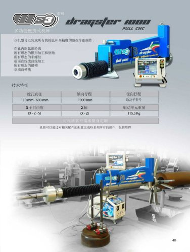 WS3 DRAGSTER 1000 FULL CNC - CINESE