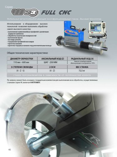 WS3 FULL CNC - RUSSO