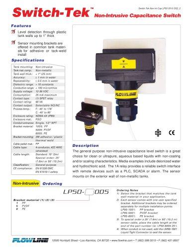 Non-Intrusive Capacitance Switch