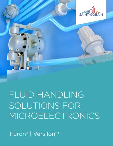 FLUID HANDLINGSOLUTIONS FOR      MICROELECTRONICS