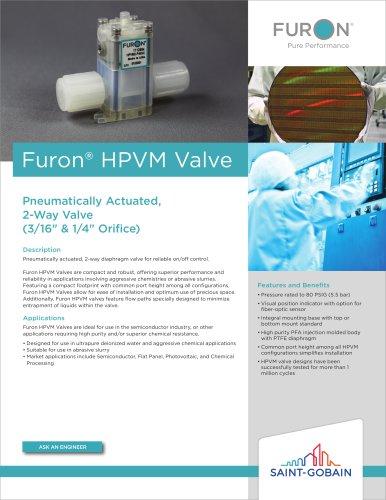 Furon® HPVM Valve
