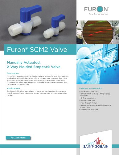 Furon® SCM2 Valve