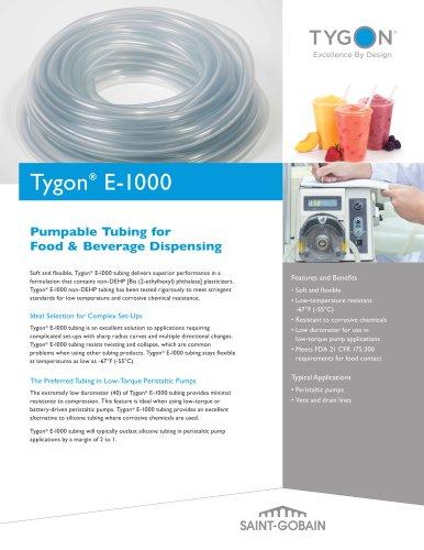 Tygon® E-1000