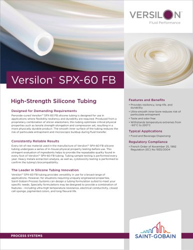 Versilon™ SPX-60 FB