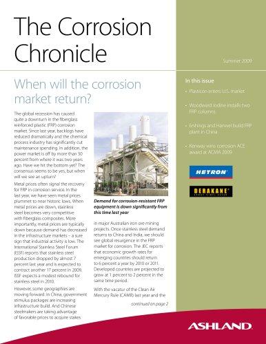 ASHLAND Corrosion Chronicle Summer 2009