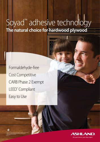 Soyad? adhesive technology The natural choice for hardwood plywood