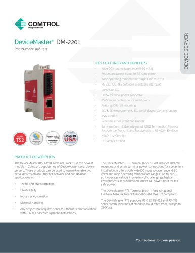 DeviceMaster® DM-2201