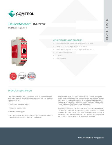 DeviceMaster® DM-2202