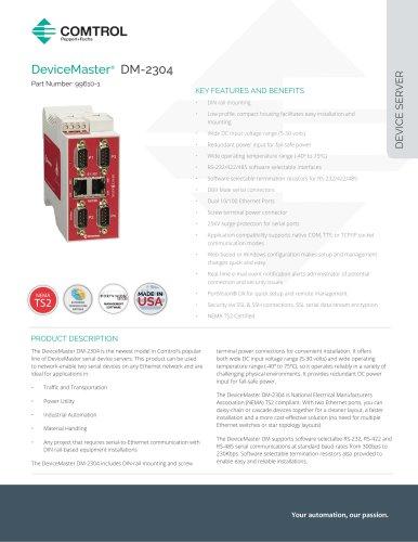 DeviceMaster® DM-2304