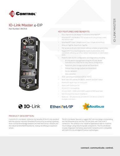 IO-Link Master 4-EIP