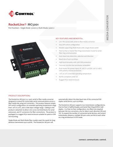 RocketLinx® MC5001