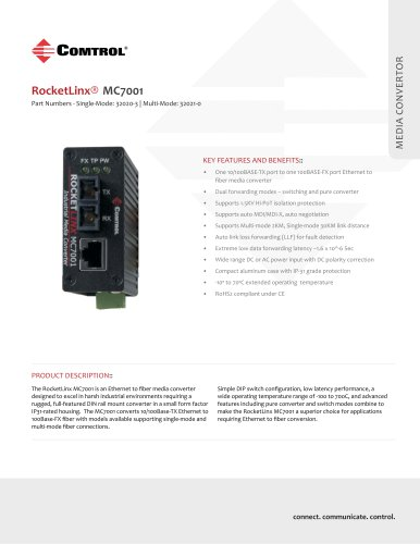 RocketLinx® MC7001