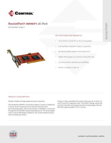 RocketPort ® INFINITY 16-Port