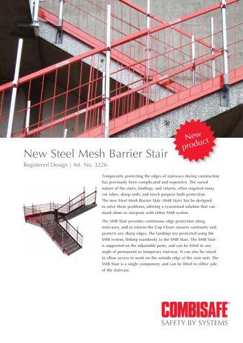 New Steel Mesh Barrier Stair