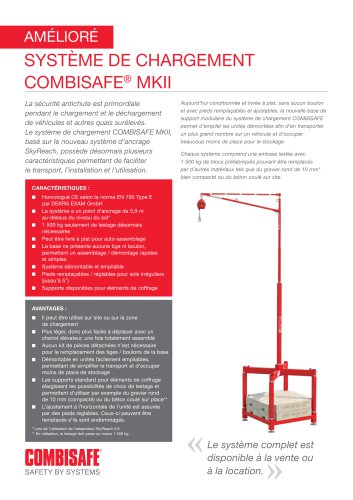 Système de chargement COMBISAFE MKII