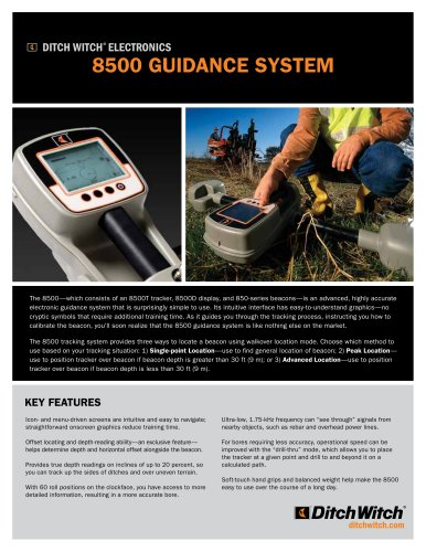 8500 Guidance system