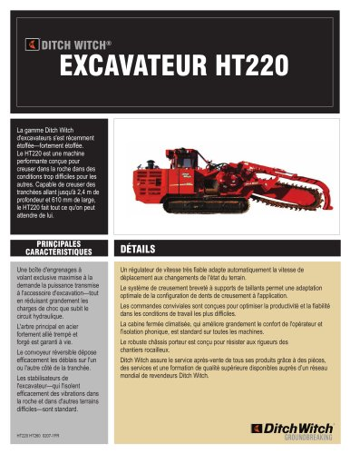 EXCAVATEUR HT220