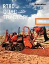 RT80 QUAD RIDE-ON TRENCHER