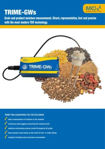 TRIME-GWs: Moisture sensor for corn dryer
