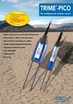 TRIME-PICO: Soil moisture probes