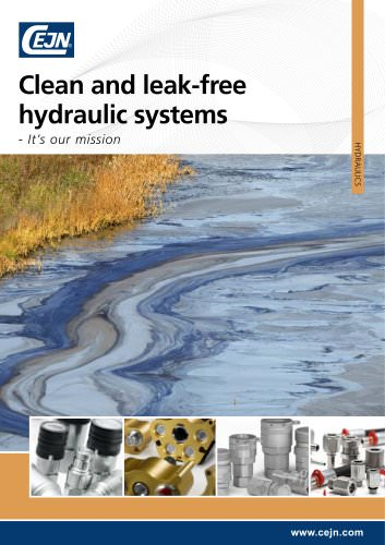 Clean and leak free hydraulic systems