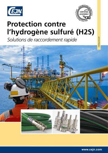 Protection contre l'hydrogène sulfuré (H2S)